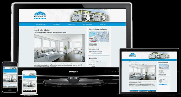 Bauunternehmen Ingolstadt websiteerstellung für ingolstädter bauunternehmen